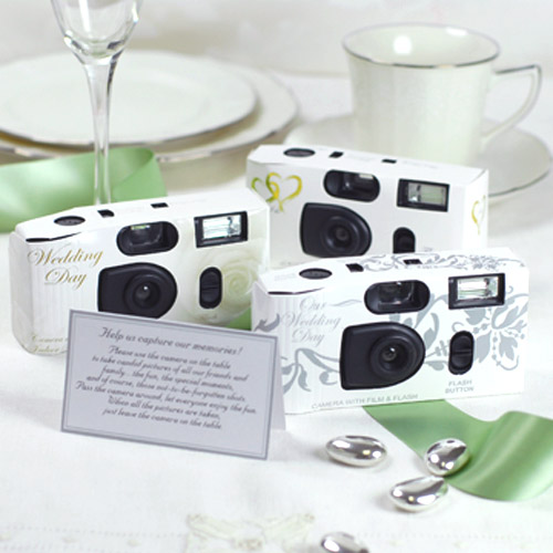 Disposable Camera Wedding Idea