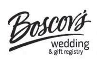 Boscov's Wedding and Gift Registry: Put It On Your Wedding Checklist!