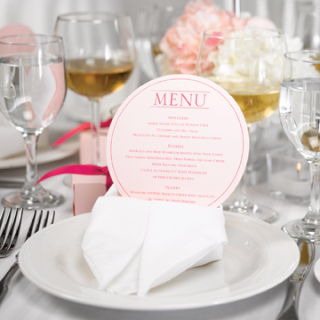 unique diy menu card ideas philadelphia wedding. Black Bedroom Furniture Sets. Home Design Ideas