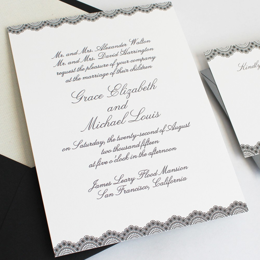 Words For Wedding Invites: How To Word And Assemble Wedding Invitations