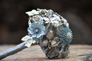 Bouquet Made out of Brooches