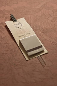 Original DIY Projects for your Wedding Day