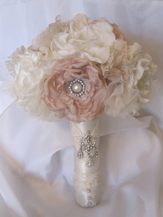 Most Brides Will Use The Same Flowers But Another Great Alternative Is To Make A Fabric