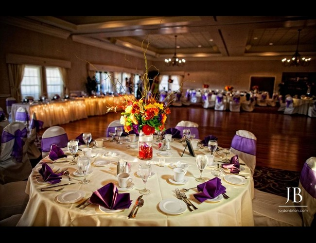Wedding Reception Location: Marco's at Indian Spring Country Club