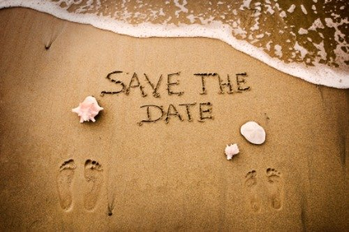 wedding save date